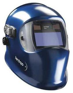 Optrel 1006.180 Welding Helmet, Shade 4, 5 To 13, Med. Blue