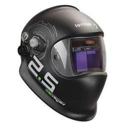 OPTREL 1006.600 Auto Darkening Welding Helmet, Black