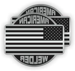 American WELDER Hard Hat Stickers | Labels Decals Welding M