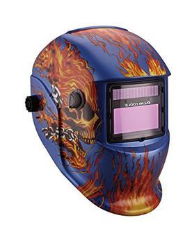 OEMTOOLS 24358 Automatic Darkening Welding Helmet with Grind