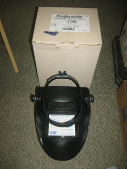 """SELLSTROM 28901 Welding Helmet, FixedFront, Plate 4-1/2""""H"""