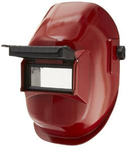 Sellstrom 29371 Nylon Red Coated Welding Helmet with 4-1/4""