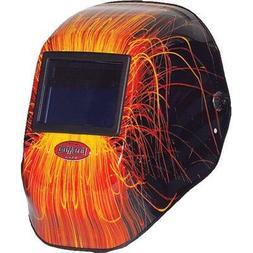 Fibre Metal FMX Wire Burner Welding Helmet Red