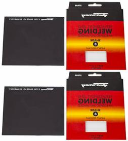 2PK FORNEY 57050 Replacement Welding Safety Lens Glass UV-AB