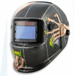 Titan 41279 Solar Powered Auto Dark Welding Helmet