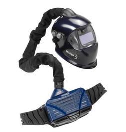 Optrel 4550.100 E3000 PAPR System with E680 Helmet, Dark Blu
