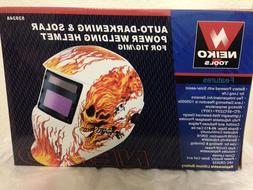 Neiko 53934A Auto-Darkening and Solar Power Welding Helmet f
