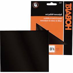 Hobart 770010 No.10 Standard Replacement Shaded Lens, 4-1/2-