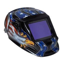 Instapark American Eagle Auto Darkening Welding Helmet Safet