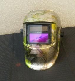 "AUDEW ANSI  'CAMO""Solar Auto-Darkening Welding Helmet Lens u"