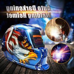AUDEW Solar Auto-Darkening Welding Helmet Arc Tig Mig Mask F