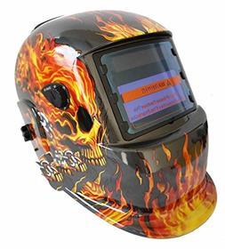 Auto Darkening Mig Tig Grinding Welding Helmet Welder Hood M