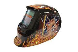Auto-Darkening Solar Powered MIG Welding Helmet TIG Welder S