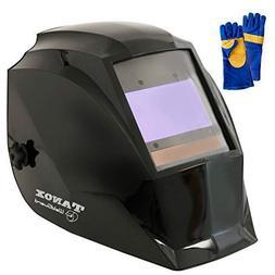 Tanox Pro Digital Auto Darkening Solar Powered Welding Helme
