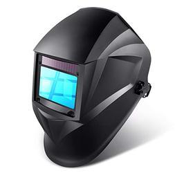 Auto Darkening Welding Helmet - Solar Power Welding Hood wit