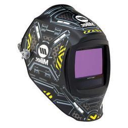 MILLER ELECTRIC 280047 Auto Darkening Welding Helmet, Black