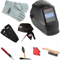 Lincoln Electric Auto-Darkening Welding Helmet Starter Kit -