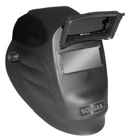 "Radnor® Black 24PF Lift Front Welding Helmet With 2"" X 4 1/"