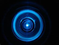 """Blue Drop In Welding Lens--One Lens- 2"""" X 4.25--Please Read"""
