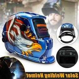 AUDEW CE ANSI Solar Auto-Darkening Welding Helmet Lens Mask