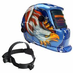 AUDEW CE ANSI Solar Auto-Darkening Welding Helmet Lens  Grin