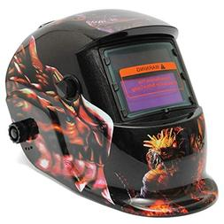 Yongse Dinosaur Solar Auto Darkening Welding Helmet Welder G