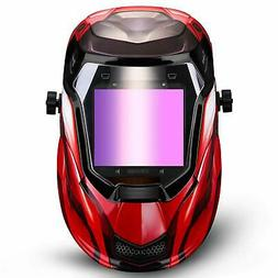 DEKOPRO Durable Solar Powered Welding Helmet Auto Darkening