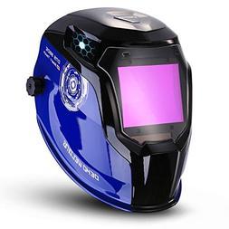 Durable Solar Powered Welding Helmet Auto Darkening Professi