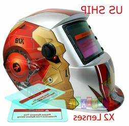 Robo Pro Solar Auto Darkening Welding Helmet Arc Tig Mig Mas