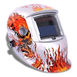 LESOLEIL Electrical Welding Helmet Solar Energy Automatic Gr