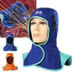 Flame Retardant Safety Helmet Welding Neck Protective Cap Ho