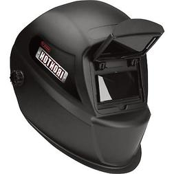 Ironton Flip-Up Welding Helmet - 3.86in. x 2.09in. Viewing A