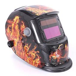 Ghost Fire Solar Auto Darkening Welding Helmet Arc Tig mig G