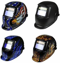 GX800S Solar Auto Darkening Welding Grinding Helmet Mask Adj