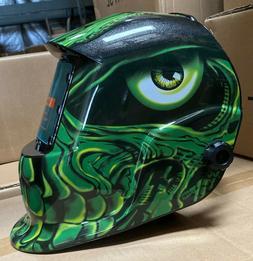 TTHT pro Solar Auto Darkening Welding Helmet Arc Tig mig cer