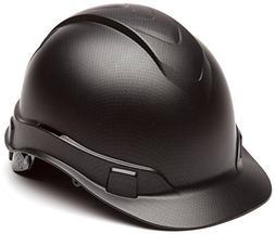 Pyramex Ridgeline Cap Style Hard Hat, 4 Point Ratchet Suspen