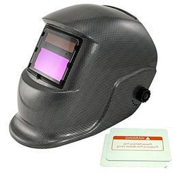 iMeshbean Adjustable Auto Darkening Solar Welding Helmet Arc