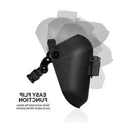 Industrial Grade Welding Helmet Pipe AC Hood Headgear Pancak
