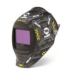 Miller Digital Infinity ADF Helmet 13.4sq in viewable BLACK