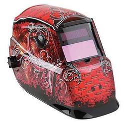 LINCOLN ELECTRIC K2933-1 Welding Helmet, Shade 9 to 13, Red/