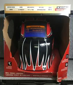 New Lincoln Electric K3063-1 Auto-Darkening Welding Helmet F