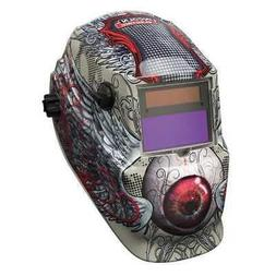 LINCOLN ELECTRIC K3190-1 Welding Helmet, Shade 9 to 13, Tan/