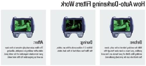 9100, Welding Safety with SideWindows and Speedglas 9100V, Shades 8-13