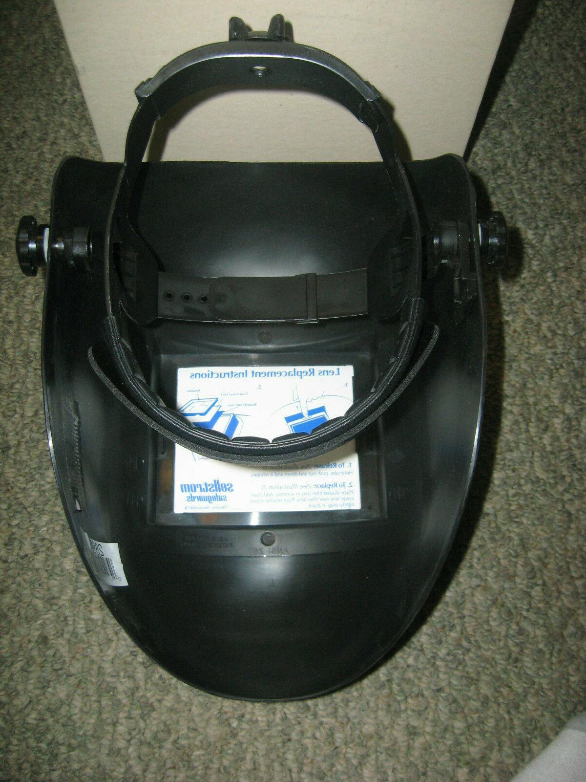 SELLSTROM Welding Helmet, FixedFront,