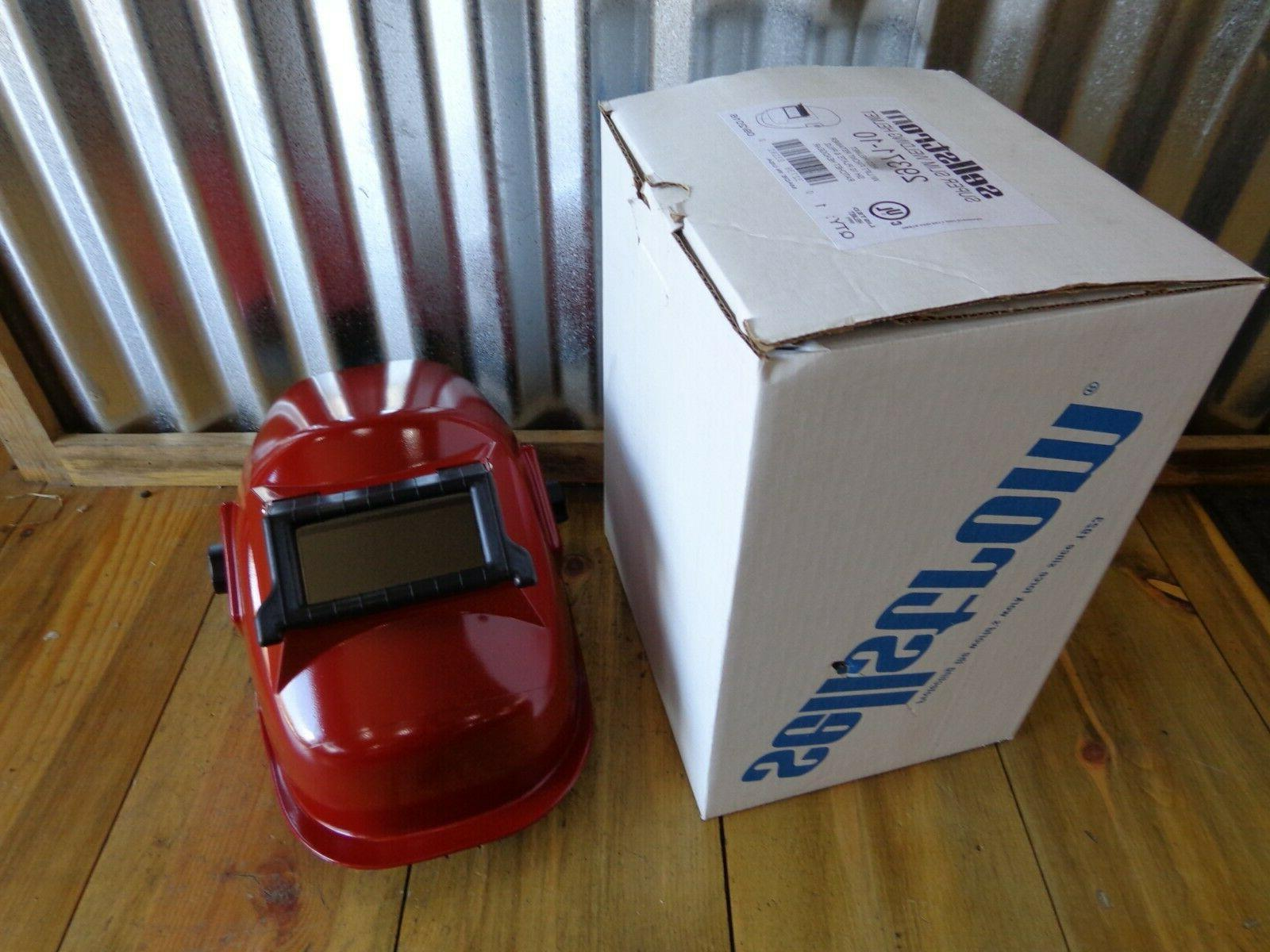 29371 10 super slim welding helmet red