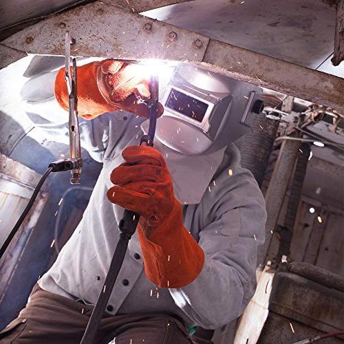 Sellstrom S29411-08E Welding Helmet, Silver Made