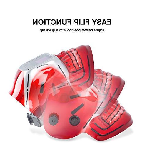 Neiko Auto-Darkening Welding Helmet MMA,   and Battery