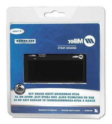 MILLER ELECTRIC 770226 Welding Lens, 2 x 4 In, #10, Auto-Dar