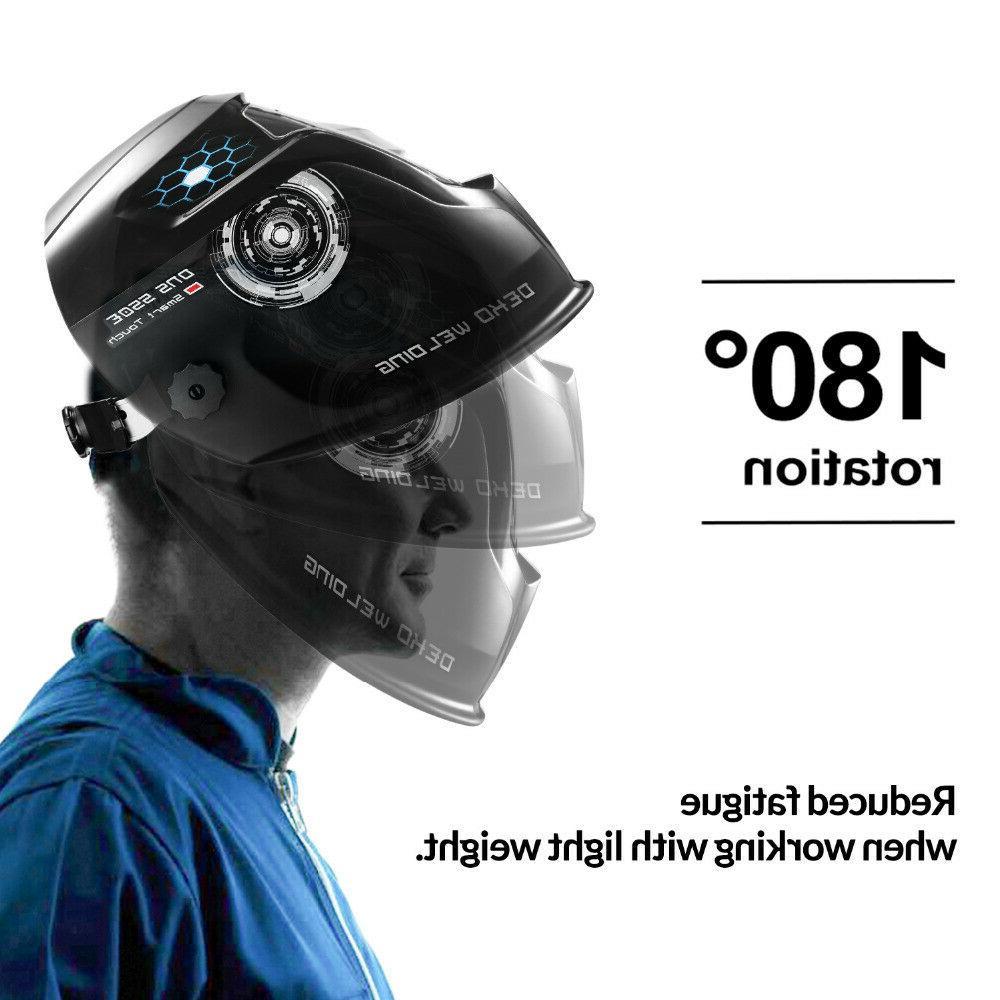 DEKO with Adjustable 4/9-13 Mig helmet