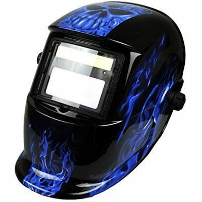 Solar Powered Welding Helmet with Shade